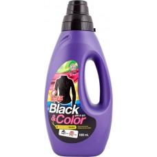 Жидкое средство для стирки, черное и цветное