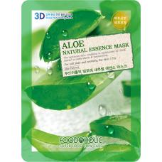 Тканевая 3D маска с экстрактом алоэ Aloe Natural Essence Mask