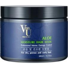 Маска для волос с алоэ вера Aloe Moisture Hair Mask, увлажняющая
