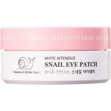 Гидрогелевые патчи с муцином улитки White Intensive Snail Eye Patch