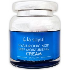Интенсивно увлажняющий крем для лица с гиалуроновой кислотой Hyaluronic Acid Deep Moisturizing Cream