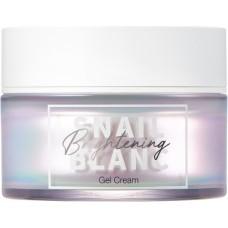 Гель-крем для лица с муцином улитки для сияния кожи Snail Blanc Brightening Gel Cream