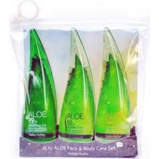 Набор для ухода за лицом и телом Jeju Aloe Face & Body Care Set