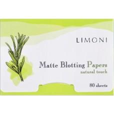 Матирующие очищающие салфетки для лица Matte Blotting Papers 80 sheets