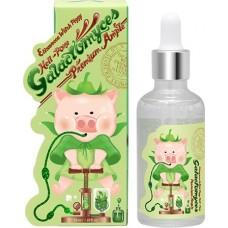 Премиум-сыворотка для лица для лица на основе фермента галактомисис Witch-Piggy Hell-Pore Galactomyces Premium Ample