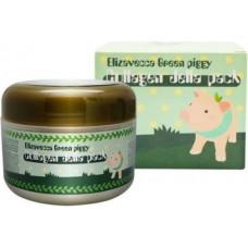 Коллагеновая маска-желе для лица с лифтинг-эффектом Green Piggy Collagen Jella Pack