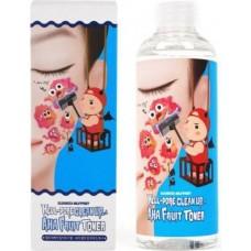 Тонер-пилинг для лица с фруктовыми кислотами Milky Piggy Hell-Pore Clean Up AHA Fruit Toner