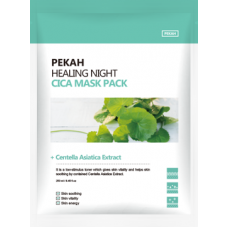 Восстанавливающая тканевая маска с экстрактом центеллы азиатской Healing Night Cica Mask Pack