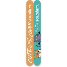 Набор пилок для натуральных и искусственных ногтей Cute Is My Cover, 2 шт
