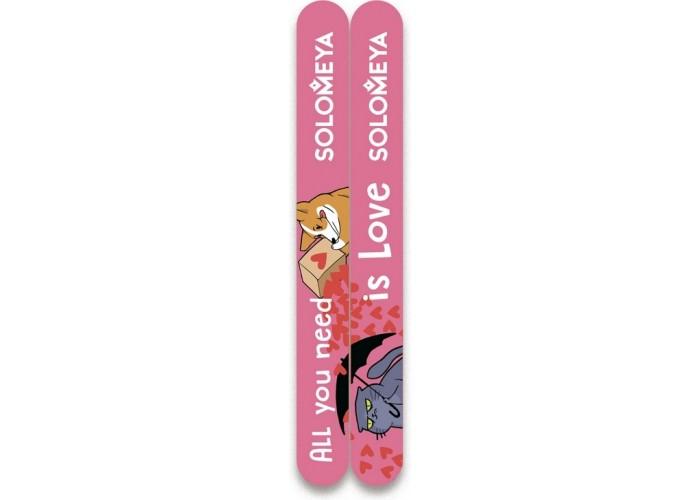 Набор пилок для натуральных и искусственных ногтей All You Need Is Love, 2 шт