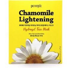 Осветляющая гидрогелевая маска для лица с экстрактом ромашки Chamomile Lightening Hydrogel Face Mask 1pcs