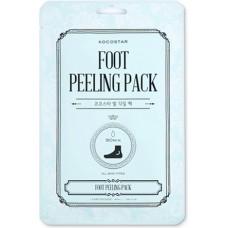 Носочки для пилинга Foot Peeling Pack, гладкие пяточки