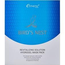 Набор гидрогелевых масок для лица с экстрактом ласточкиного гнезда Bird's Nest Revitalizing Solution Hydrogel Mask Pack