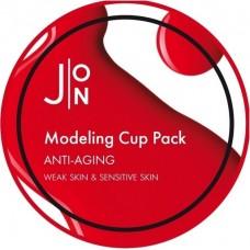 Антивозрастная альгинатная маска с экстрактом женьшеня Anti-Aging Modeling Pack
