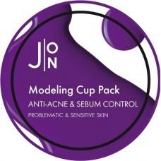Альгинатная маска для лица против акне Anti-Acne & Sebum Control Modeling Pack