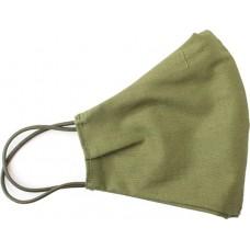 Многоразовая защитная маска из хлопка (2 слоя), хаки