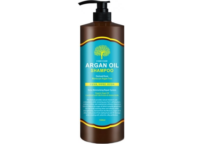 Шампунь для волос с аргановым маслом Char Char Argan Oil Shampoo
