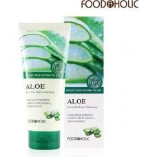 Очищающая пенка для умывания с экстрактом алоэ Aloe Smoothie Foam Cleansing