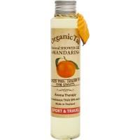 Безсульфатный гель для душа с мандариновым маслом Natural Shower Gel Mandarin, 100 мл