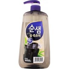 Средство для мытья посуды, бамбуковый уголь