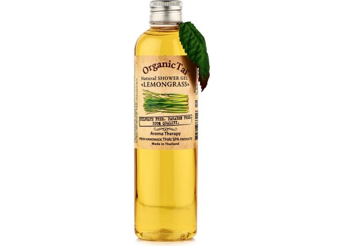 Безсульфатный гель для душа с экстрактом лемонграсса Natural Shower Gel Lemongrass