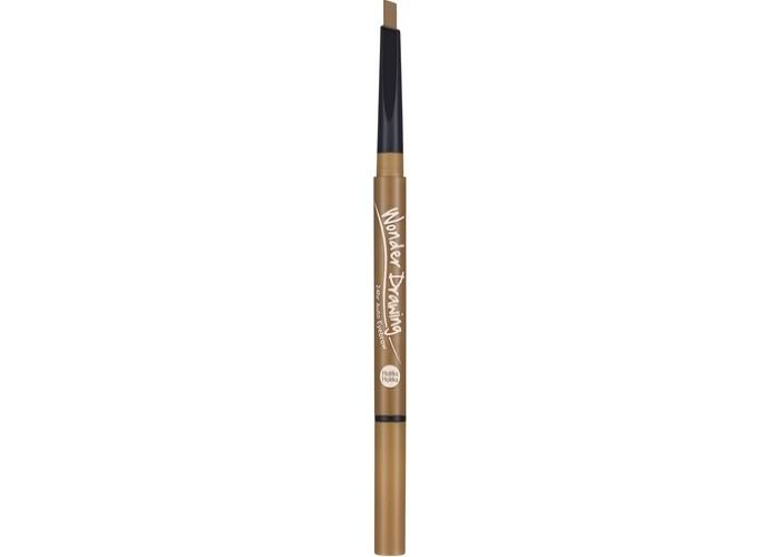 Автоматический карандаш для бровей с щеточкой, светло-коричневый Wonder Drawing 24hr Auto Eyebrow 03 Light Brown