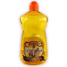 Жидкое средство для стирки с частицами золота
