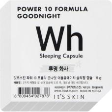 Ночная маска-капсула, выравнивающая тон Power 10 Formula Goodnight Sleeping Capsule WH