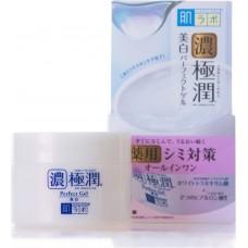 Гиалуроновый гель для лица, выравнивающий тон кожи Gokujyun Whitening Perfect Gel