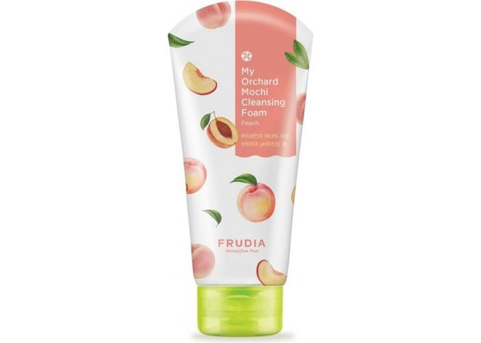 Очищающая пенка для лица с персиком My Orchard Peach Mochi Cleansing Foam