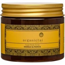 Скраб для тела на основе тростникового сахара с экстрактом манго и папайи Sugar Body Scrub Mango & Papaya