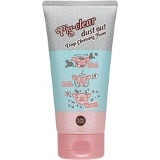 Глубоко очищающая пенка для лица Pig-clear dust out Deep Cleansing Foam