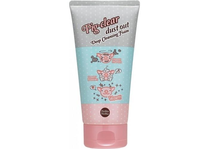 Глубоко очищающая пенка для лица Pig-clear dust out Deep Cleansing Foam
