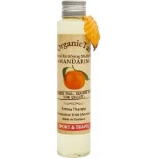 Безсульфатный шампунь для волос с мандариновым маслом Natural Fortifying Shampoo Mandarin, 100 мл