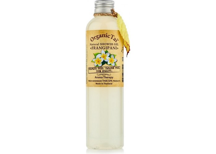 Безсульфатный гель для душа с экстрактом франжипани Natural Shower Gel Frangipani
