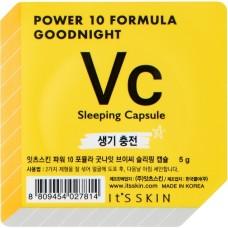 Ночная маска-капсула, тонизирующая Power 10 Formula Goodnight Sleeping Capsule VC