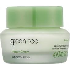 Крем для жирной и комбинированной кожи с зеленым чаем Green Tea Watery Cream